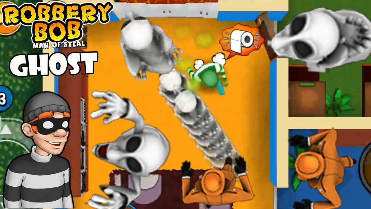 Robbery bob 1 - Super Mario Ghost - Part 2 - Suburbs