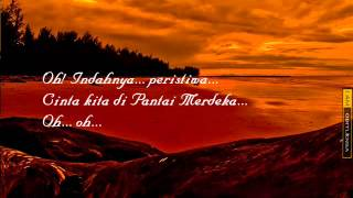 Cinta Pantai Merdeka- Pak Long with lyrics