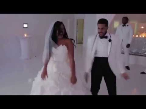 BEST WEDDING FIRST DANCE EVER!! (WIPE ME DOWN) (JUJUONTHEBEAT)