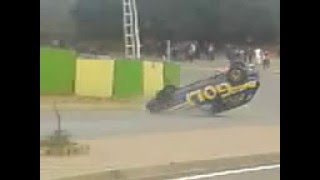 accident de rally golf srie 1 draria algerie