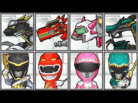 Dino Robot Corps + Power Ranger Dash - Full Game Play - 1080 HD