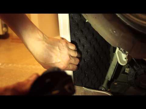 №1. Звукоизоляция стиральной машины