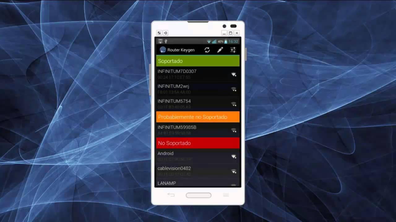 router keygen con diccionario para android