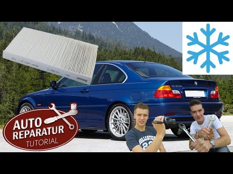 How to filter replacement by BMW E46 | Reparatur Tutorial