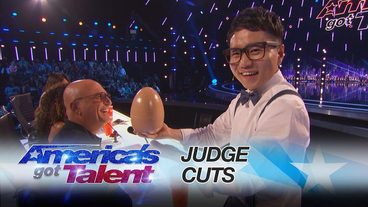 Americas got talent 2017 dates - Jeki Yoo Magician Amazes With Hidden Card Trick America S Got Talent 2017