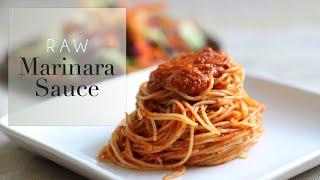 Raw Marinara Sauce