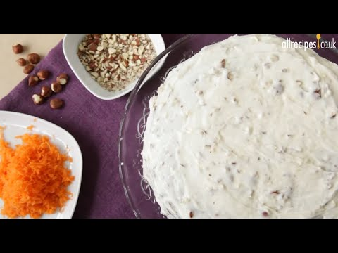 Gorgeous Carrot Cake With Nutty Cream Cheese Icing Recipe
