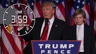 Here comes the Trump Train! CHOO CHOO! Will the tech industry get on board? (The 3:59, Ep. 165)