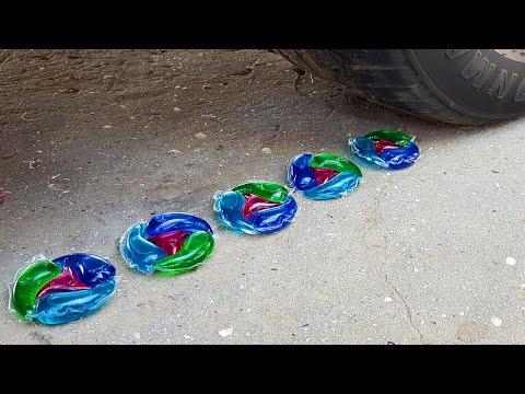Crushing Crunchy & Soft Things by Car! EXPERIMENTS  BABY CAT VS CAR TEST