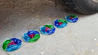 Crushing Crunchy  Soft Things by Car EXPERIMENTS - BABY CAT VS CAR TEST