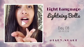 Light Language - Lady Nuage - Lightning Bolt #8
