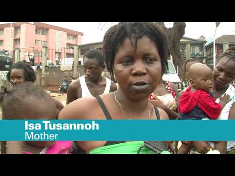 Free, universal health care rolls out for mothers and children in Sierra Leone