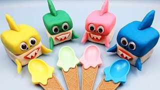 4 Colors Play Doh Ice Cream Cups LOL Chupa Chups Learn Wild Animals Toys Kinder Surprise Eggs