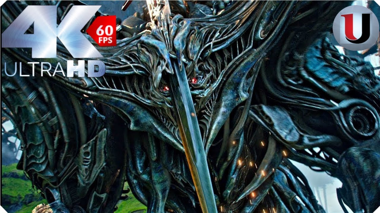 Transformers 5 The Last Knight Optimus Prime VS Infernocus (4K)