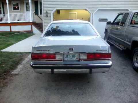 1991 Mercury Grand Marquis GS with Sequential tail lights  YouTube