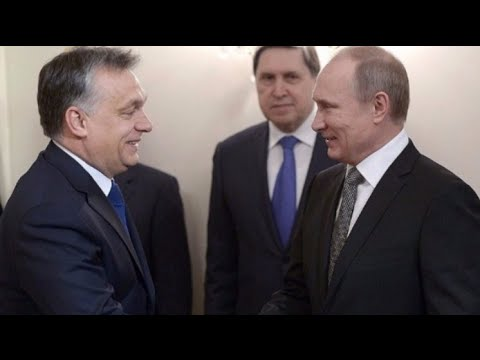 LIVE: Putin and Orban hold press conference following meeting in Moscow - English Audio