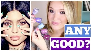 Kylie Jenner Nail Polish Line: Review + Demo! Is It Worth It? | JennyClaireFox