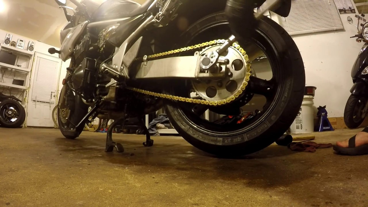 Motorcycle Chain Alignment: Lose The Sprocket Tool