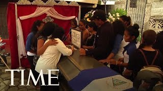 Families Begin Burying The Dead After A Bloody Weekend In Nicaragua | TIME