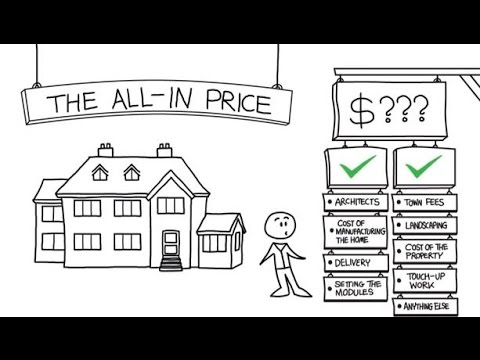 How much does it cost to build a house - YouTube