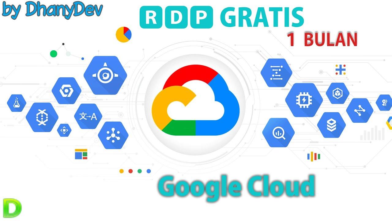 Tutorial Rdp Gratis Dari Google Cloud Dengan Qwiklabs Free Rdp 1 Month Cara Bikin Youtube