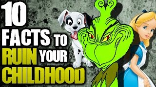 10 Shocking Facts to Ruin Your Childhood | TWISTED TENS #44