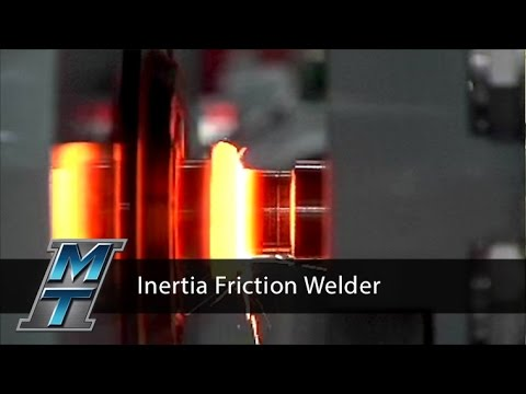 Inertia Friction Welder - Model 180B
