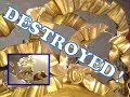Destroyed Gold Leaf Frame DIY Restoration Tutorial