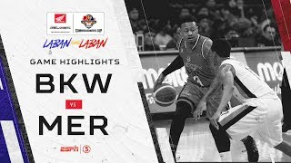 Highlights: Blackwater vs. Meralco | PBA Commissioner's Cup 2019