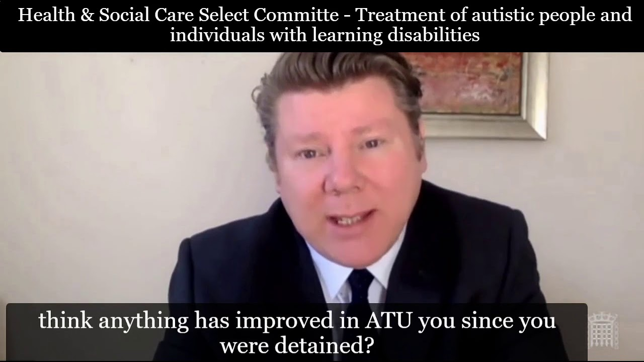 Health & Social Care Committee: Treatment of autistic people and people with learning disabilities