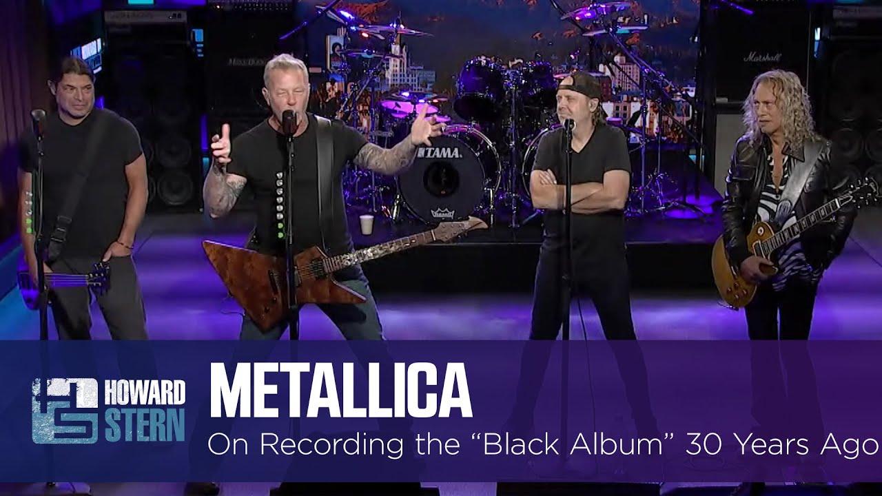 "Metallica on Recording the ""Black Album"" 30 Years Ago"