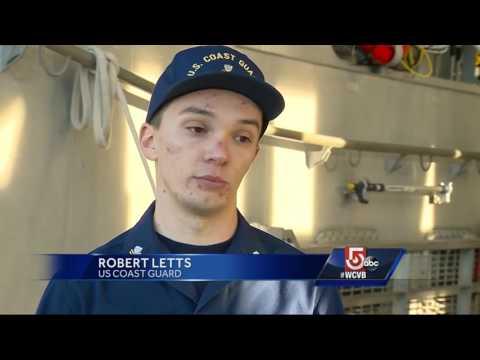 Coast Guard Releases Footage Of Boston Harbor Rescue