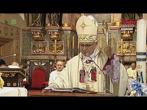 Homilia ks. bp. Artura Mizińskiego wygłoszona w Kaliszu