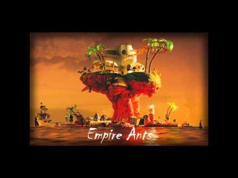 GoRiLLaZ - Empire Ants (Lyrics)