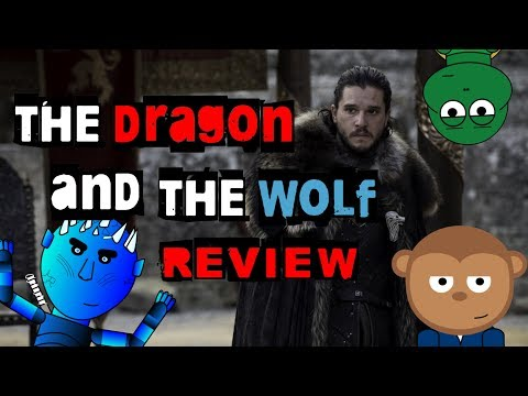 Game of Thrones - Season 7 FINALE REVIEW! (The Dragon and the Wolf)