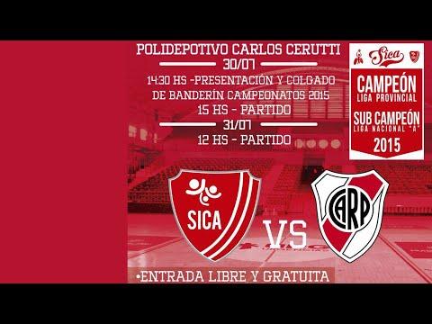 River vs. SICA - Liga Nacional A - Basquet en silla de ruedas