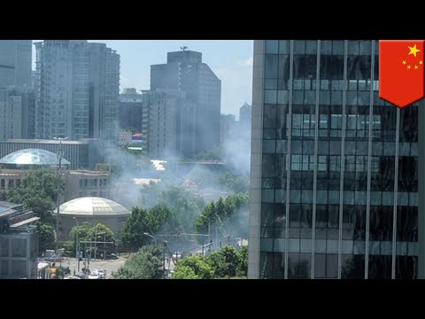 Explosion reported outside of the US embassy in Beijing - TomoNews