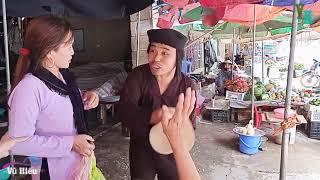 MV hài Lê Thị Dần đi chợ lâu về bị chồng đánh te tua.