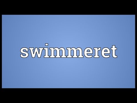 Swimmeret Meaning
