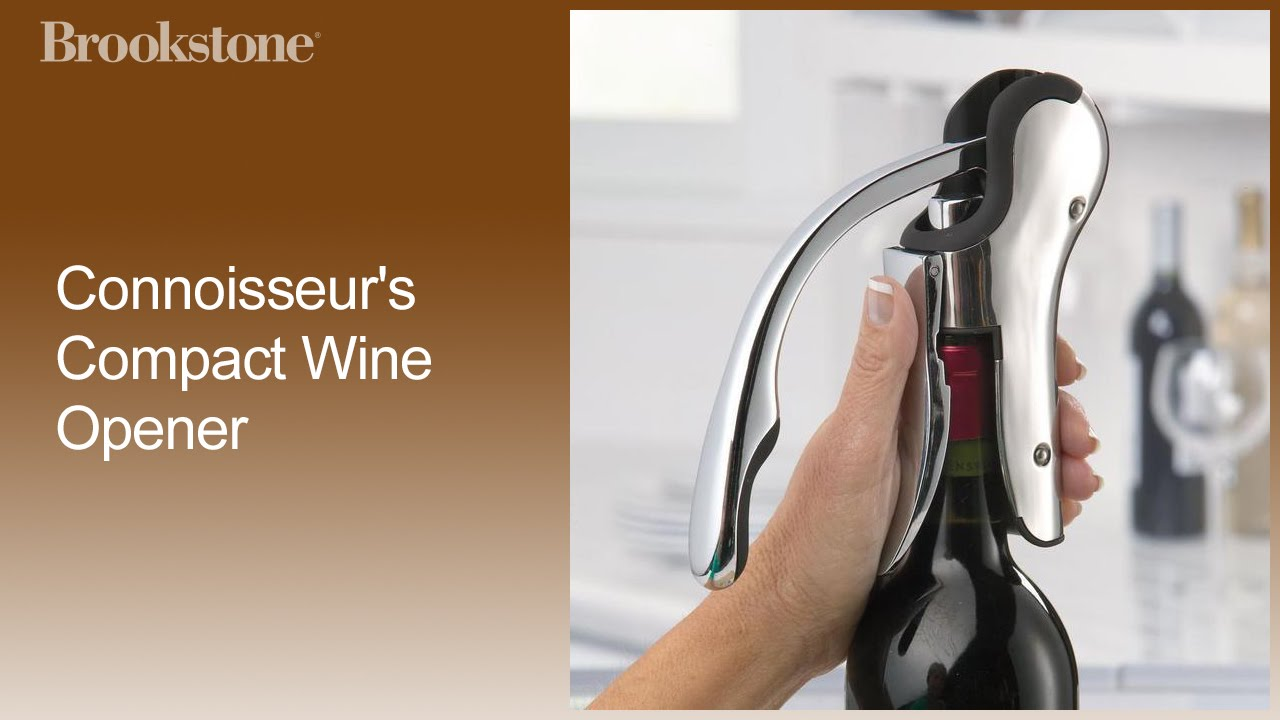 Connoisseurs Compact Wine Opener How To Video Youtube
