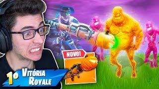 OS ZUMBIS INVADIRAM MINHA PARTIDA! ESTOU CHOCADO! Fortnite: Battle Royale thumbnail