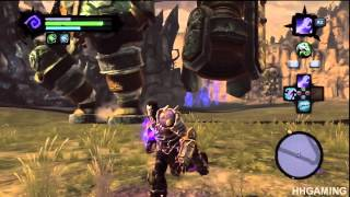 Darksiders 2 - walkthrough part 26 The Guardian boss battle Gameplay HD