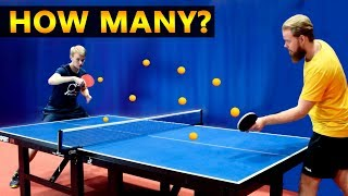 How Many Balls Can You Play With?