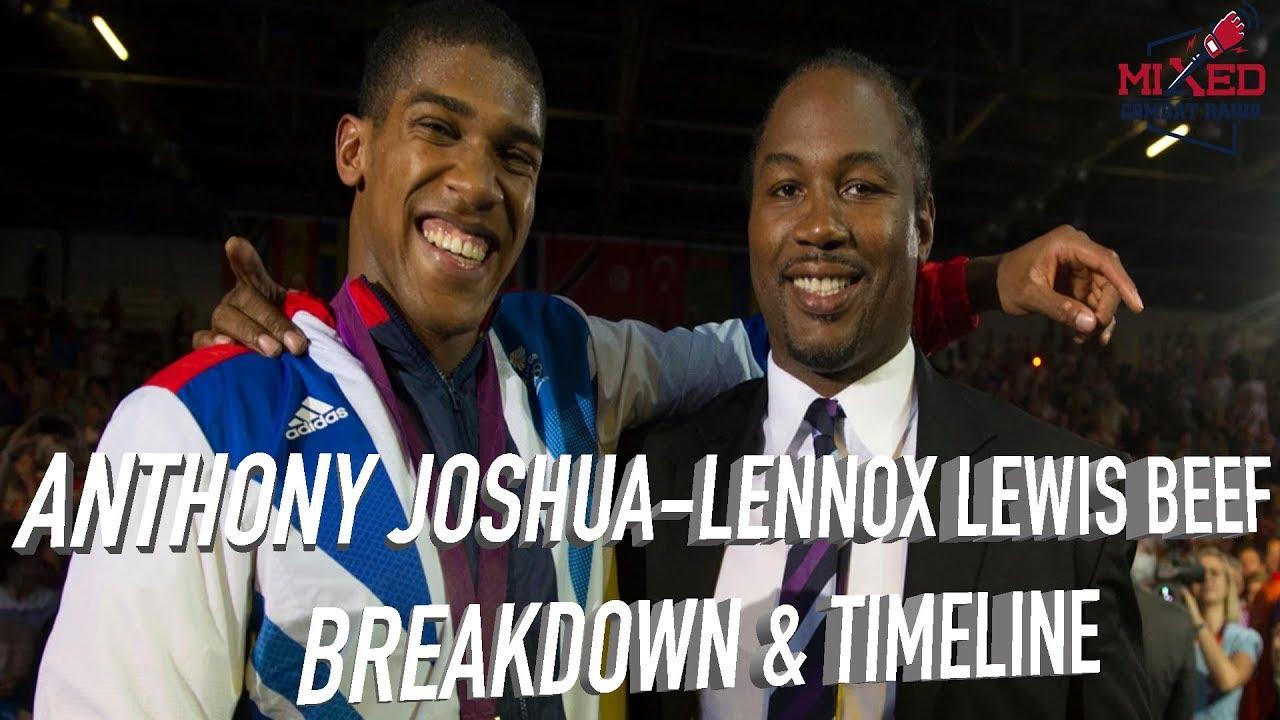 Anthony Joshua-Lennox Lewis BEEF, Is AJ's Heel Turn Fake