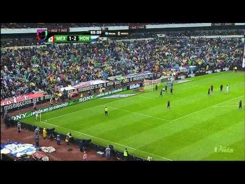 MEXICO 1 VS HONDURAS 2 [Segundo Tiempo] partido eliminatorio [6 septiembre 2013
