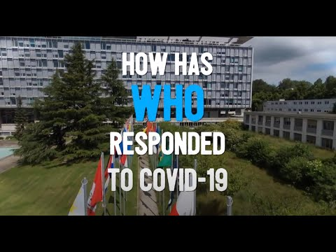 How has WHO responded to COVID-19