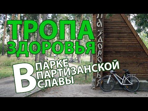 🚴 Тропа здоровья, 🌳 парк партизанской славы, 4K UHD