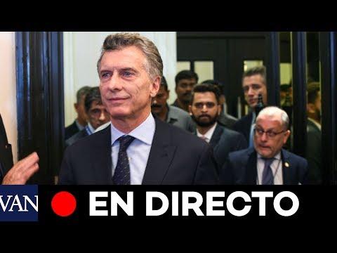 [EN DIRECTO] El último discurso de Mauricio Macri