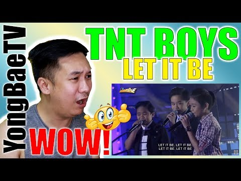 "TNT Boys Sings ""Let It Be"" On It's Showtime 