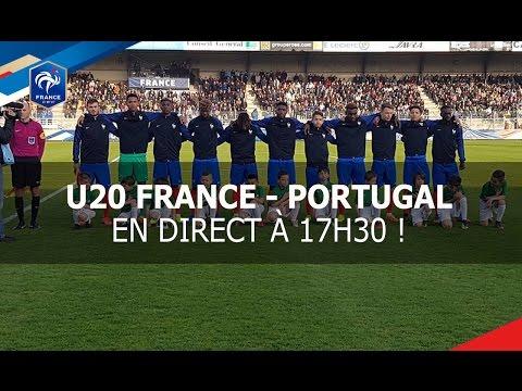 Tournoi des 4 nations U20 : France-Portugal (2-2), le replay !